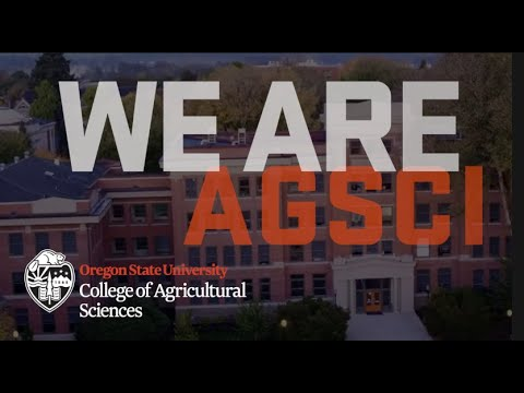 College Of Agricultural Sciences At Oregon State University