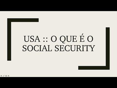 USA :: O que é o Social Security Number