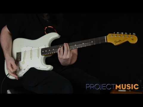 Fender Custom Shop Journeyman Postmodern Strat White Rosewood