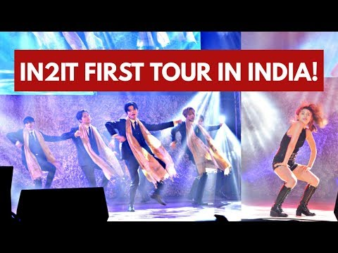 IN2IT FIRST CONCERT IN INDIA ft. ALEXA - VLOG! | KPOP HIGH INDIA