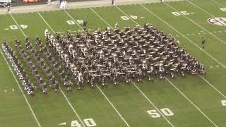 Fightin' Texas Aggie Band Halftime Drill - UAB Game at Kyle Field - 11/17/18