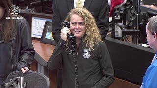 Discussion between Julie Payette and David Saint-Jacques