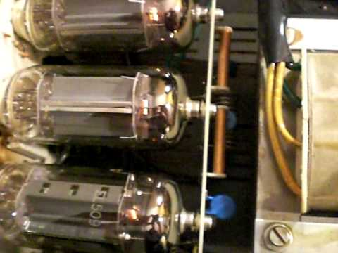 ZETAGI BV-603, 27 Mhz - TUBE RF AMPLIFIER REPAIR - POWER TEST