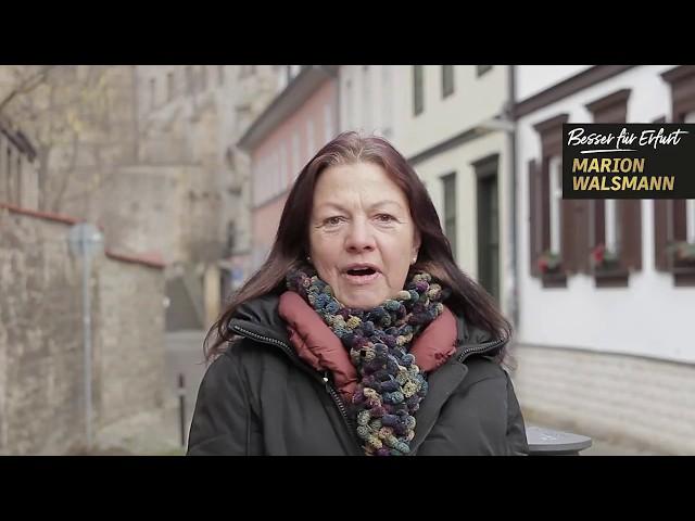 Petra Bischoff unterstützt Marion Walsmann als OB-Kandidatin für Erfurt