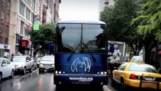 Montblanc presents The John Lennon Educational Tour Bus