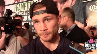 Frampton: Santa Cruz Is The Bookies Favourite, I'm a Different Animal at 126lbs!