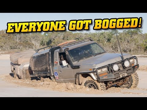 Unforgettable Top End adventure - EVERYONE BOGGED! • How do we get out?