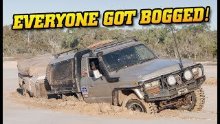 Crazy Top End 4WDing - EVERYONE BOGGED! • How do we get out?