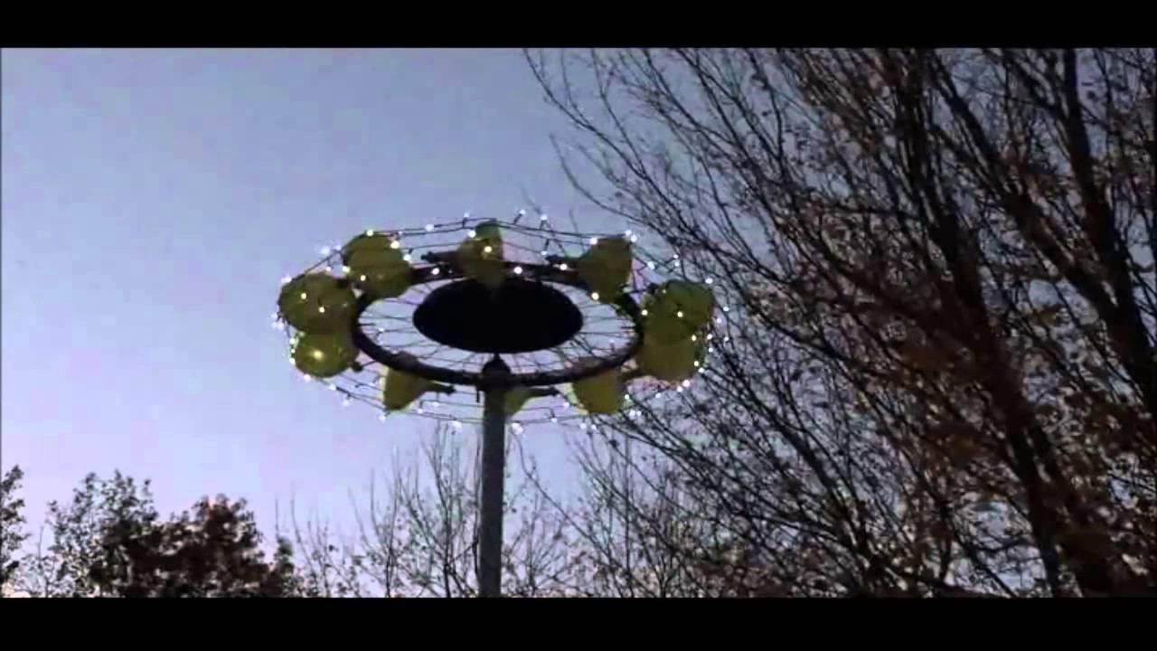 Bicycle Wheel Funnel Windspinner Youtube