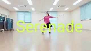 Serenade demo & walkthrough line dance(by Louis Van Hattem)