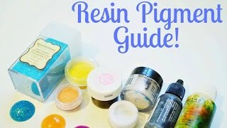 Resin Pigments ☆ Beginner's Guide to Resin Crafting