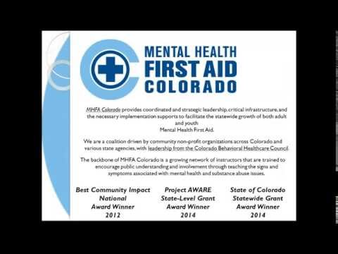 Mental Health First Aid Colorado Community Expansion Grant Informational Webinar