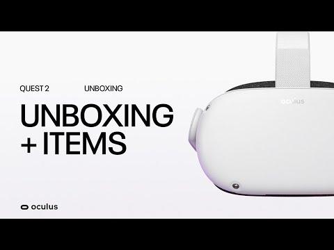Oculus Quest 2 VR Headset Unboxing & Setup | Oculus