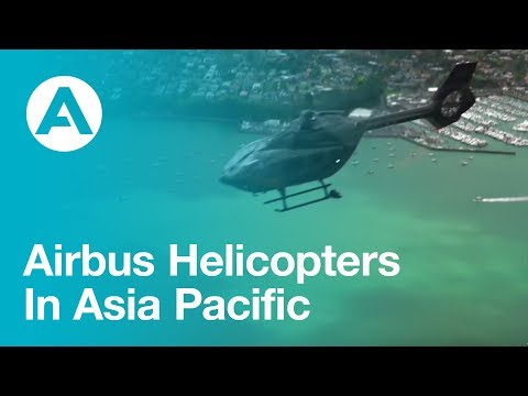 Airbus helicopters in Asia Pacific