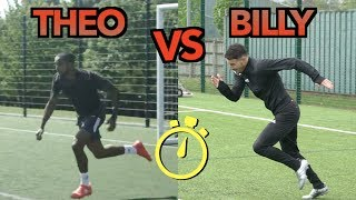 THEO WALCOTT VS BILLY WINGROVE | EPIC SPRINT RACE
