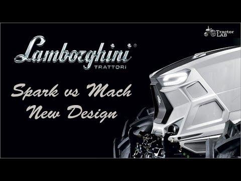 New Tractor Lamborghini Spark Design   New Tractor Lamborghini Mach Design   TractorLab