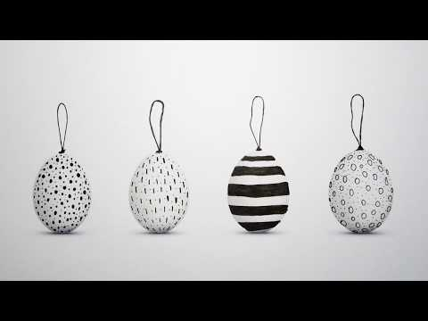 Drawing Easter Eggs Designs