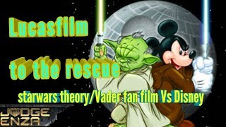 Star wars theory Vader fan film saved by lucas film