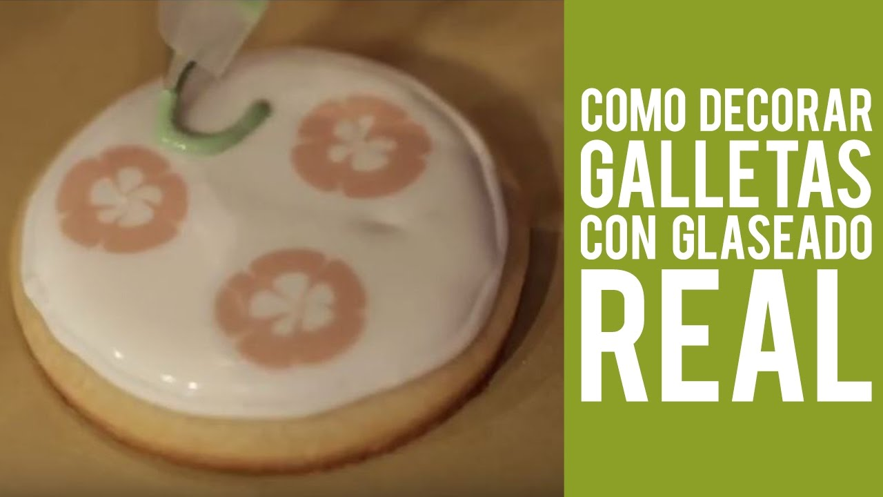 Decorar Con Glasa Real Como Decorar Galletas Con Glaseado Real