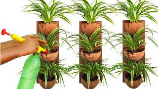 How to Make Beautiful Hanging Pot out of Coconut Shell/ Hanging Pot Ideas