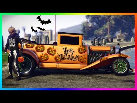 GTA 5 ONLINE - HOW TO USE THE HALLOWEEN VEHICLES EARLY, DLC CARS GOING AWAY & MORE! (GTA 5 DLC)