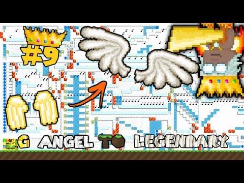 😱WORLDS LONGEST AUTORUN!!   G Angel to LEGENDARY #9   Growtopia