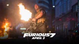 Furious 7 - In Theaters and IMAX April 3 (TV Spot 8) (HD)