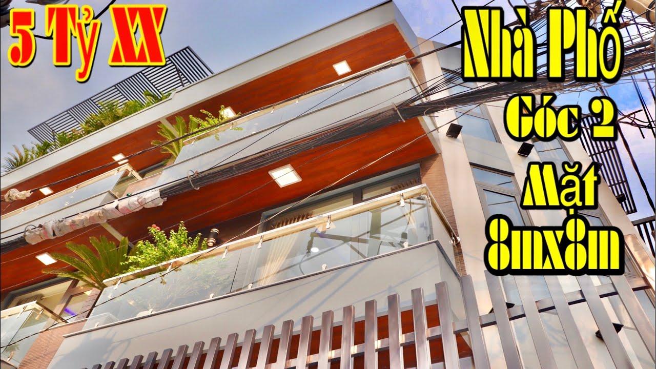 214.🔥Bán Nhà Gò Vấp. 8mx8m Góc 2 Mặt Tiền Hẻm 7m Nhà Phố Mang Phong Cách Tích Hợp Căn Hộ Hạng Sang