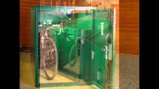 Double Ended Bike Locker By Asgard