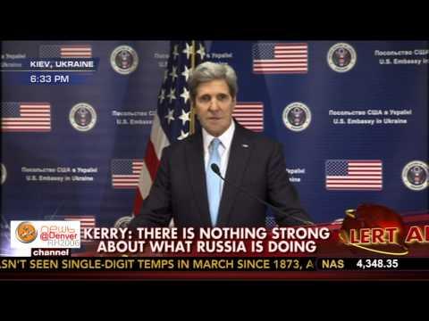 John Kerry Holds Press Conference from Kiev, Ukraine 3-3-2014