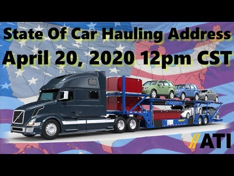 State Of Car Hauling Address 4-20-20 Auto Transport Essential Business