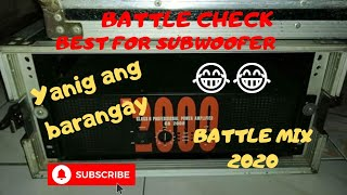 New Battle Mix 2020 - Sound test for Mid-high And Sub Woofer 2020