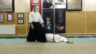 shomen uchi aikiotoshi [TUTORIAL] Aikido empty hand basic technique
