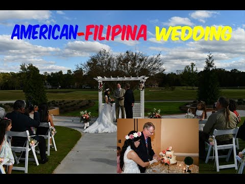 American Filipina in America    Our Wedding Video and Picture Slideshow