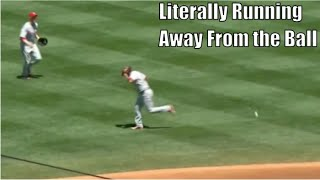MLB Fighting The Sun and Losing Compilation