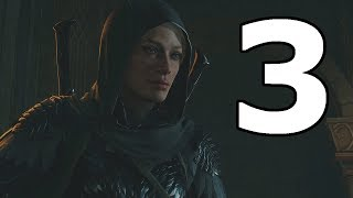 Middle Earth Shadow Of War Walkthrough Part 3 - No Commentary Playthrough (PS4)