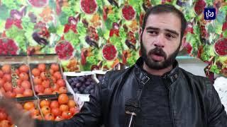 استياء من انتشار البسطات في أسواق مدينة الكرك - أخبار الدار
