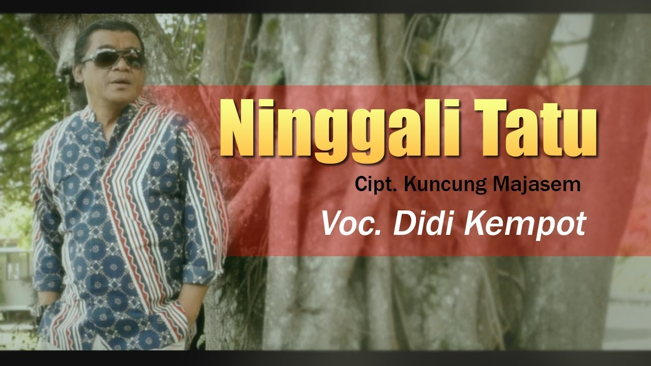 Didi Kempot Ninggali Tatu Official Youtube