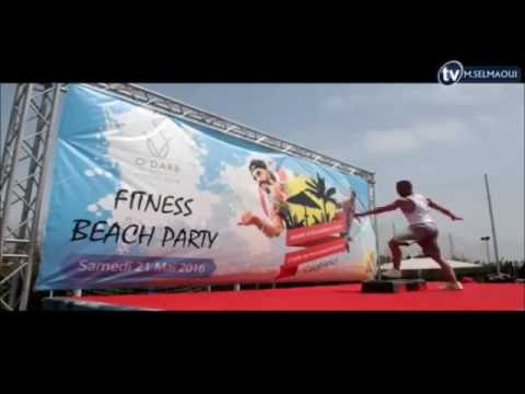 Step in Casablanca - Fitness Beach Party - Morocco
