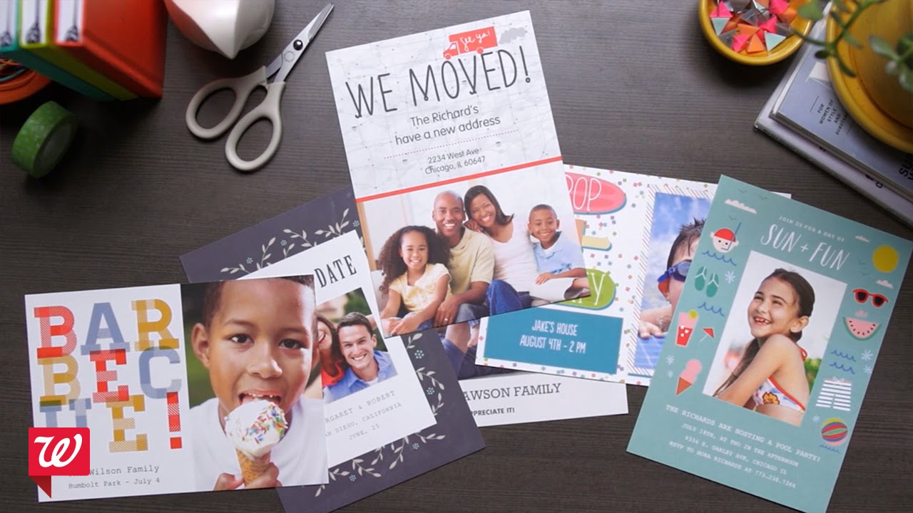 Create double sided post cards at walgreens youtube create double sided post cards at walgreens kristyandbryce Images