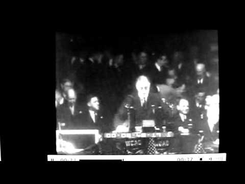 Franklin D. Roosevelt speech in Baltimore - 1932