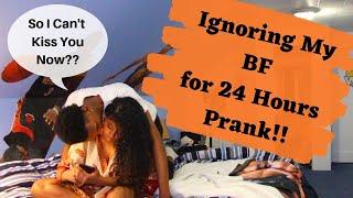 IGNORING MY BOYFRIEND FOR 24 HOURS PRANK!! (HE LEFT ME)
