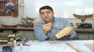 Model gemi yapımı-KO-MEK Model Gemi Usta Öğreticisi Yusuf Akmeşe