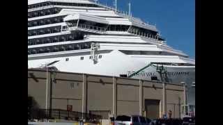 Galveston, Texas - cruise ship Carnival Triumph