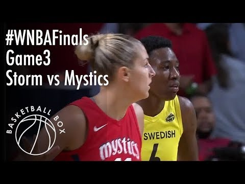 [WNBA Finals Game 3] Seattle Storm vs Washington Mystics, Full Game Highlights, September 12, 2018