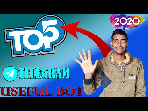 Top 5 Telegram Useful Bot  ( 2020 )