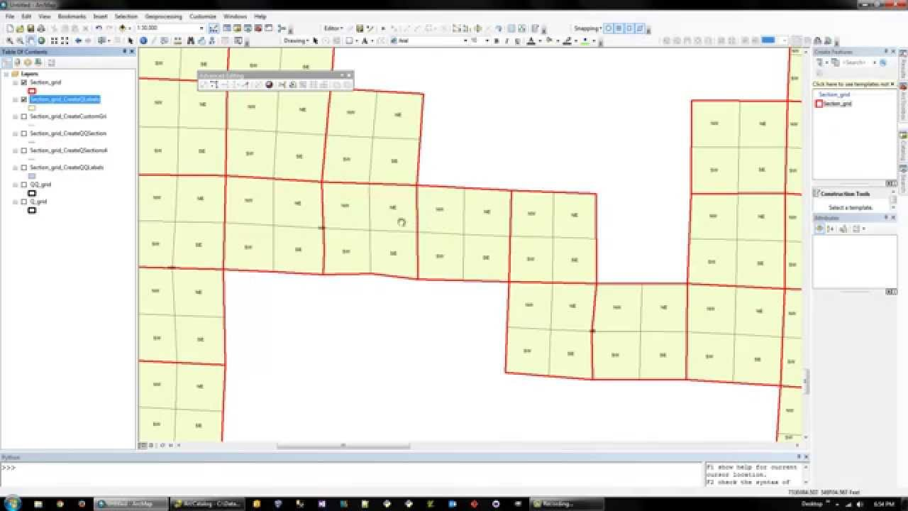 Creating a Quarter Quarter Section Grid with Python – Ian Broad