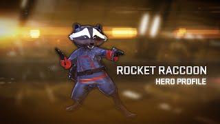 Marvel Heroes 2015 - Rocket Raccoon Hero Profile