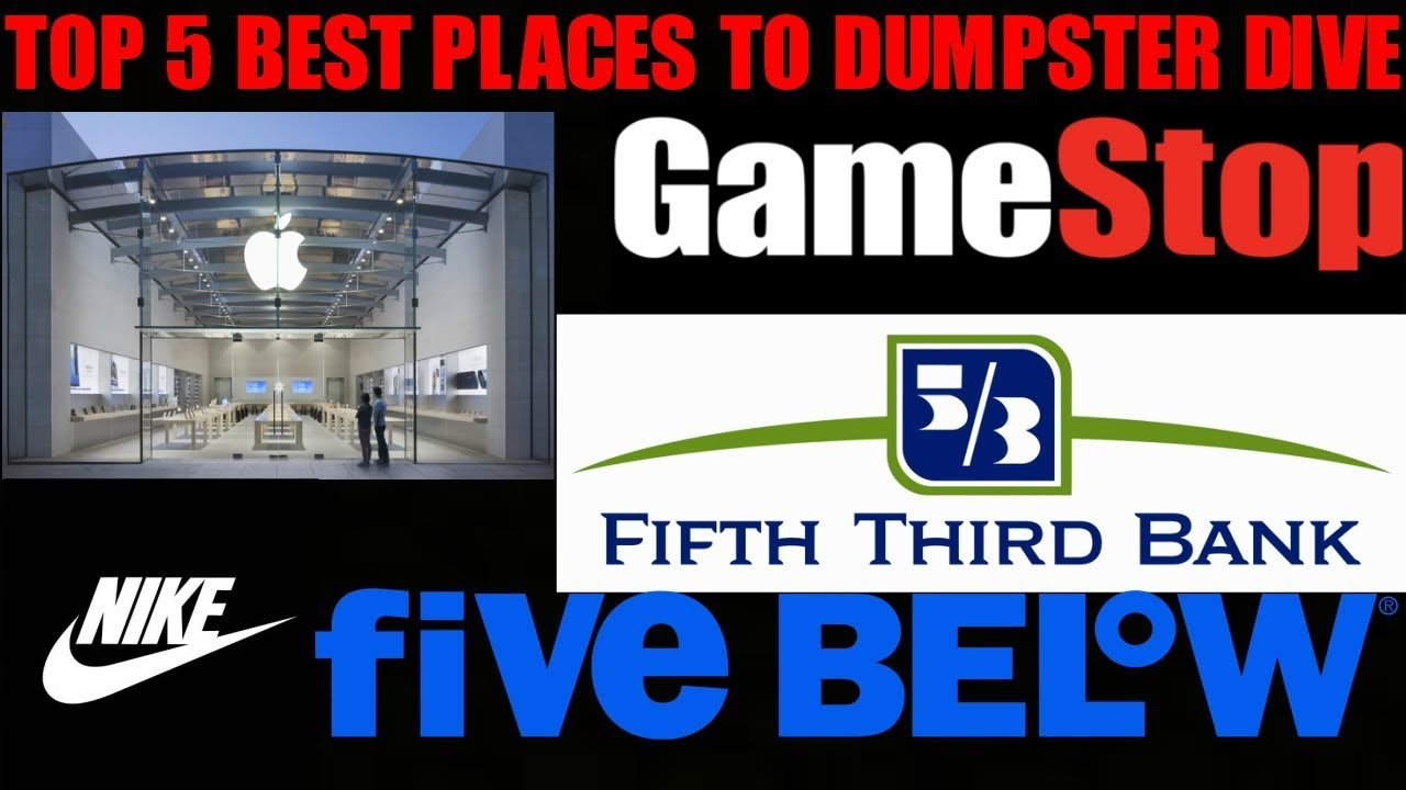 Best Stores To Dumpster Dive 2019 BEST STORES FOR DUMPSTER DIVING! Want Free Merchandise From Top