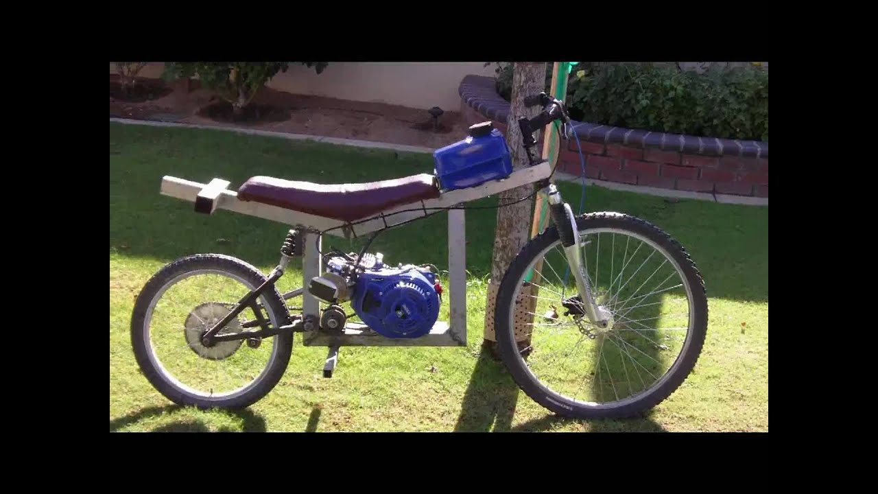 Homemade Dirt Bike - YouTube